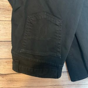Lucky Brand Jeans - Lucky Brand Lola Straight Black Jeans Size 12 / 31